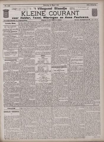 Vliegend blaadje : nieuws- en advertentiebode voor Den Helder 1913-03-29