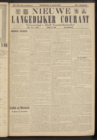 Nieuwe Langedijker Courant 1929-04-11