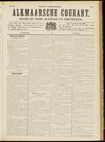 Alkmaarsche Courant 1910-04-01