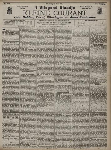 Vliegend blaadje : nieuws- en advertentiebode voor Den Helder 1907-06-19