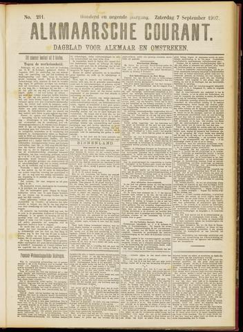 Alkmaarsche Courant 1907-09-07