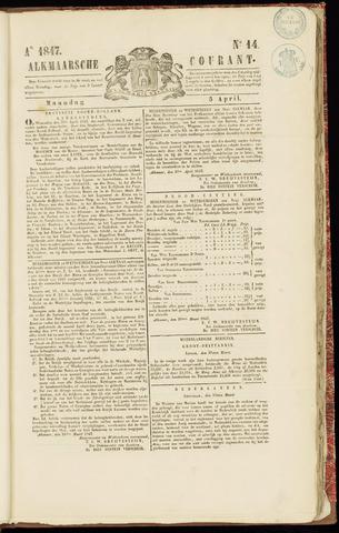 Alkmaarsche Courant 1847-04-05