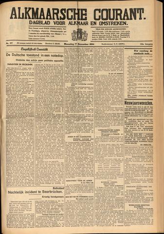 Alkmaarsche Courant 1934-12-17