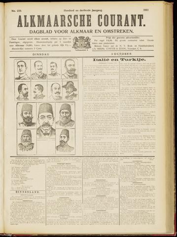 Alkmaarsche Courant 1911-10-03