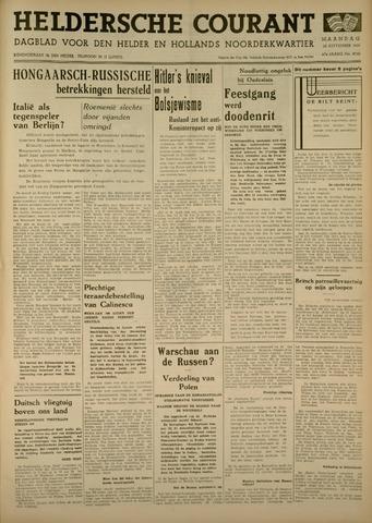 Heldersche Courant 1939-09-25