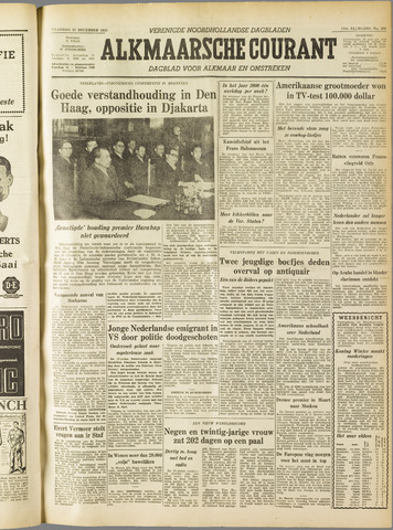 Alkmaarsche Courant 1955-12-12