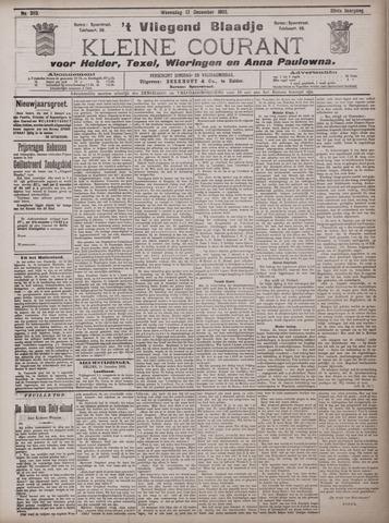 Vliegend blaadje : nieuws- en advertentiebode voor Den Helder 1902-12-17