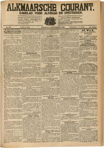 Alkmaarsche Courant 1930-09-09
