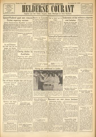 Heldersche Courant 1949-10-04
