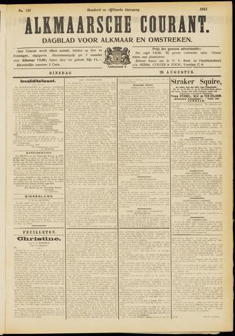 Alkmaarsche Courant 1913-08-26