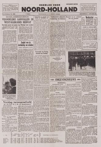 Dagblad Noord-Holland, Schager editie 1943-01-14