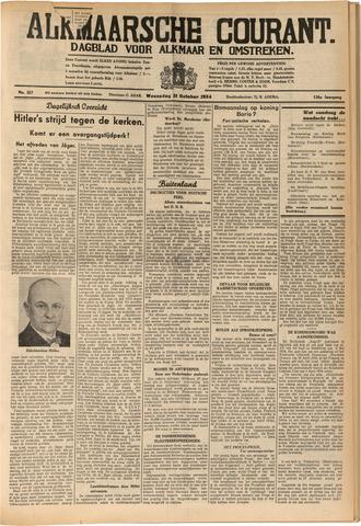 Alkmaarsche Courant 1934-10-31