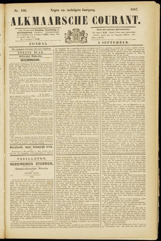 Alkmaarsche Courant 1887-09-04