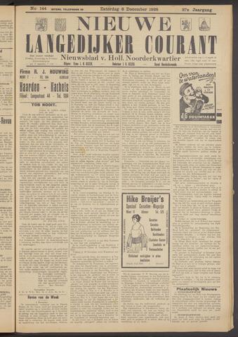 Nieuwe Langedijker Courant 1928-12-08
