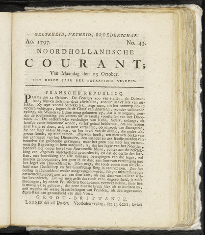 Noordhollandsche Courant 1797-10-23