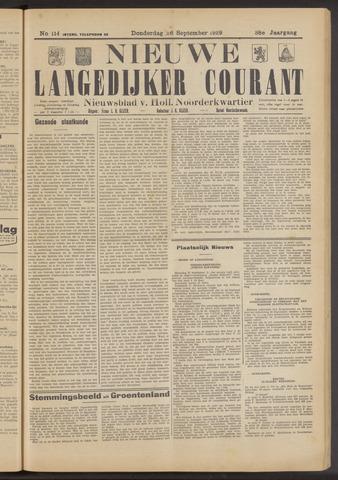 Nieuwe Langedijker Courant 1929-09-26