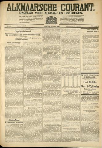 Alkmaarsche Courant 1933-06-24