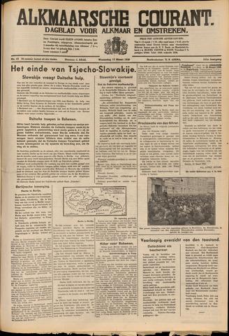 Alkmaarsche Courant 1939-03-15