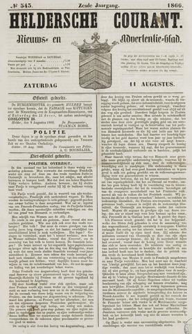 Heldersche Courant 1866-08-11