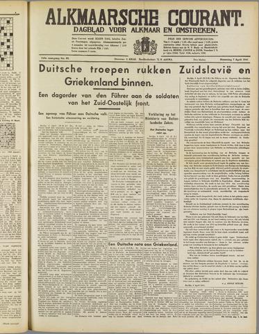 Alkmaarsche Courant 1941-04-07