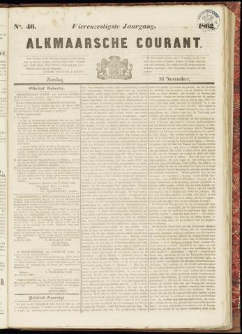 Alkmaarsche Courant 1862-11-16