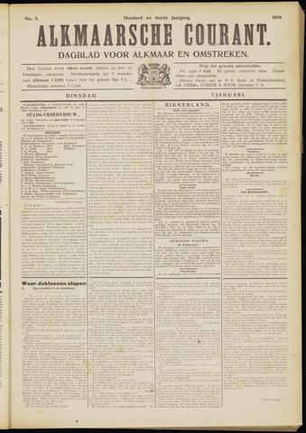 Alkmaarsche Courant 1908-01-07