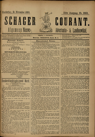 Schager Courant 1889-11-21
