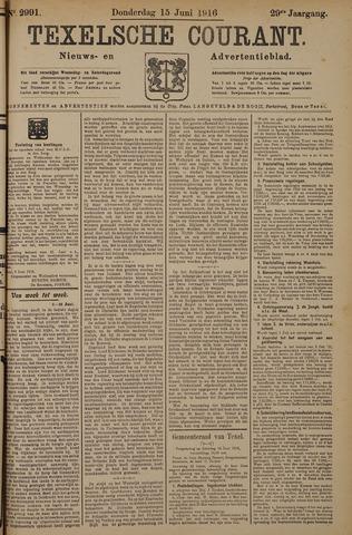 Texelsche Courant 1916-06-15