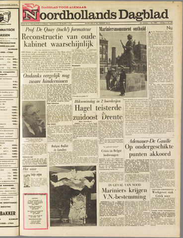 Noordhollands Dagblad : dagblad voor Alkmaar en omgeving 1963-07-06