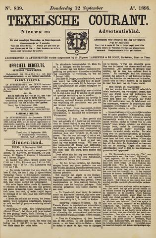 Texelsche Courant 1895-09-12