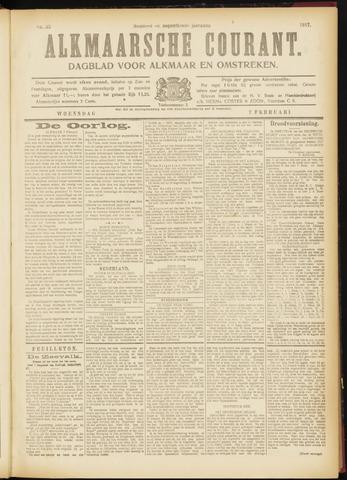 Alkmaarsche Courant 1917-02-07