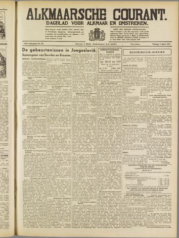 Alkmaarsche Courant 1941-04-04