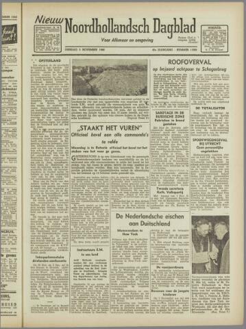 Nieuw Noordhollandsch Dagblad : voor Alkmaar en omgeving 1946-11-05
