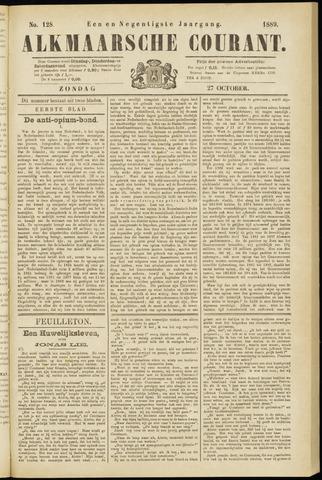 Alkmaarsche Courant 1889-10-27
