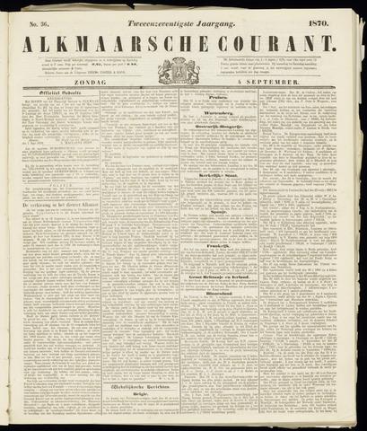 Alkmaarsche Courant 1870-09-04