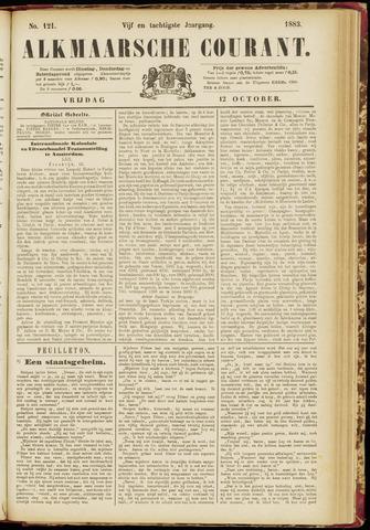 Alkmaarsche Courant 1883-10-12