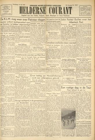 Heldersche Courant 1949-07-14