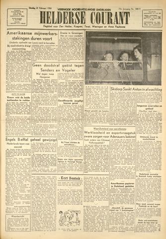 Heldersche Courant 1950-02-21