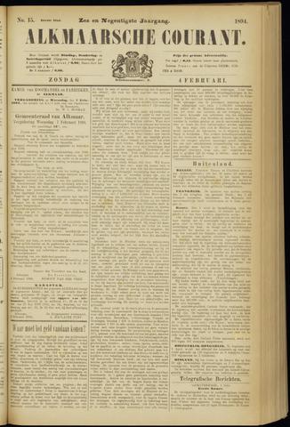 Alkmaarsche Courant 1894-02-04