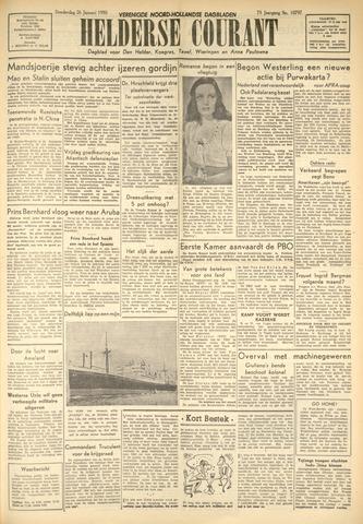 Heldersche Courant 1950-01-26