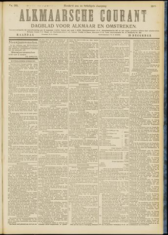 Alkmaarsche Courant 1919-12-29