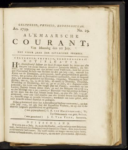 Alkmaarsche Courant 1799-07-22