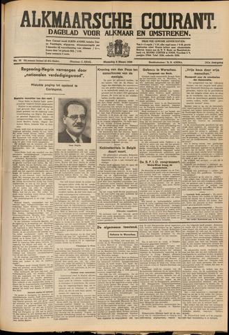 Alkmaarsche Courant 1939-03-06