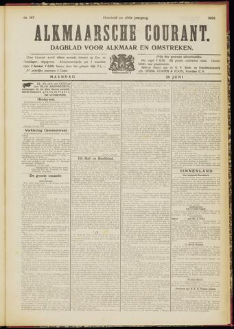 Alkmaarsche Courant 1909-06-28