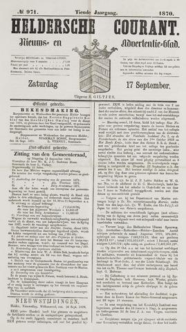 Heldersche Courant 1870-09-17