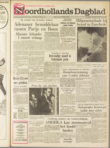 Noordhollands Dagblad : dagblad voor Alkmaar en omgeving 1964-11-03