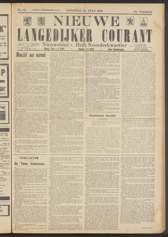 Nieuwe Langedijker Courant 1932-07-26