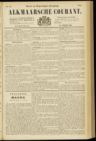 Alkmaarsche Courant 1895-02-27