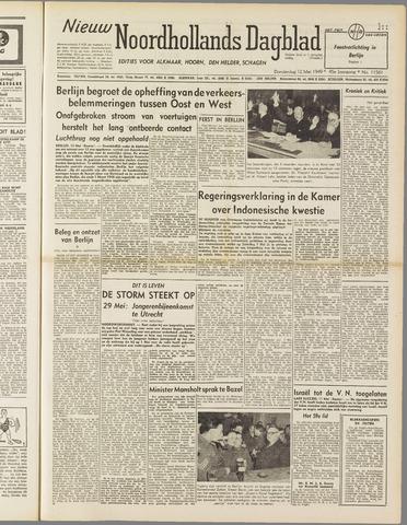 Nieuw Noordhollandsch Dagblad : voor Alkmaar en omgeving 1949-05-12