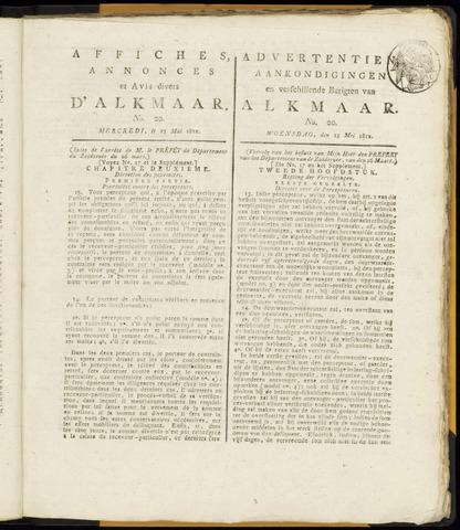 Alkmaarsche Courant 1812-05-13